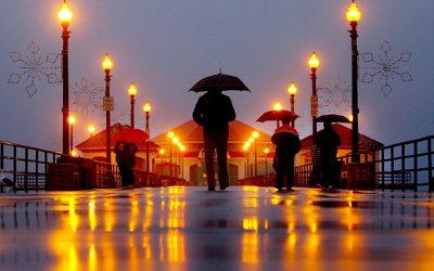 It Even Rains in LA…