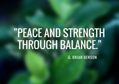 Peace and Strength